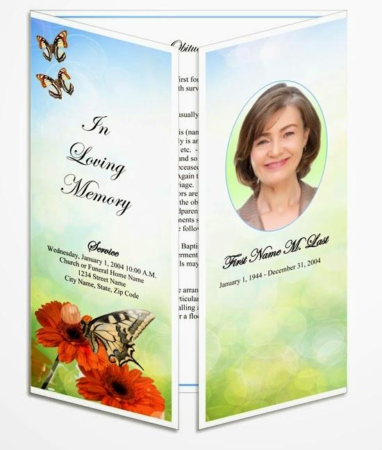 Obituary Template – Funeral Obituary Template