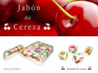 Jabón de Cereza
