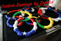 Custom Flag Earrings