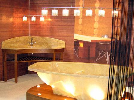 Ванны из литого мрамора