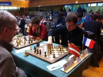 Tigran Gharamian lors du dernier tournoi de Cappelle © Chess & Strategy