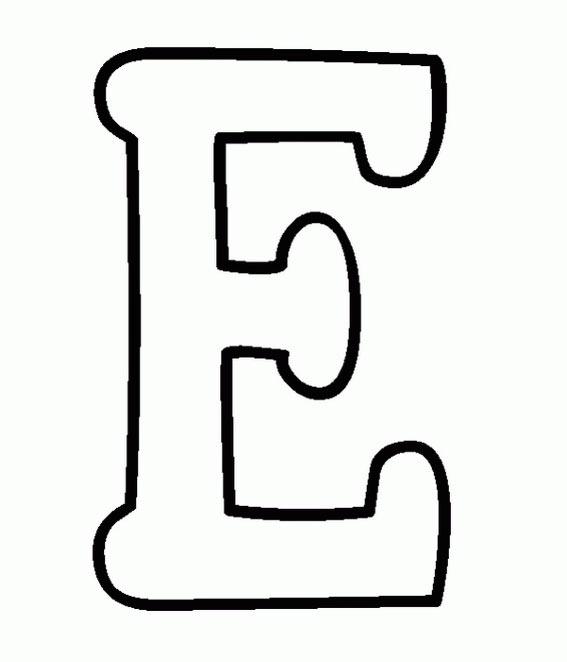 dibujos y colorear: letras E , F y G