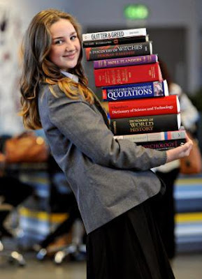 The 12-year-old schoolgirl who is brainier than both Albert Einstein and Stephen Hawking.