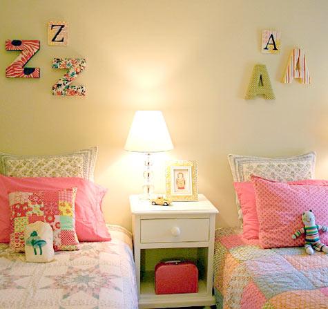 50 Ideias de decoração para quarto de gêmeas ou  irmãs com idades diferentes
