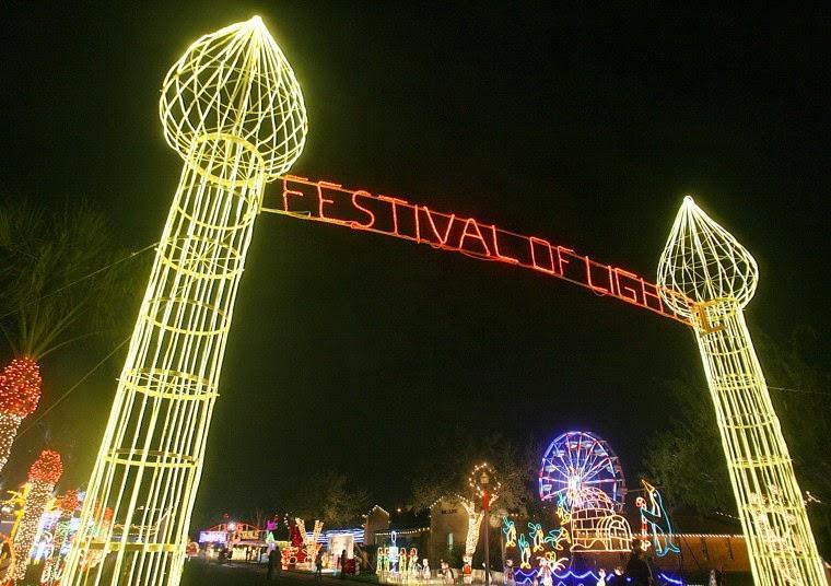 The Festival of Lights Entrance
