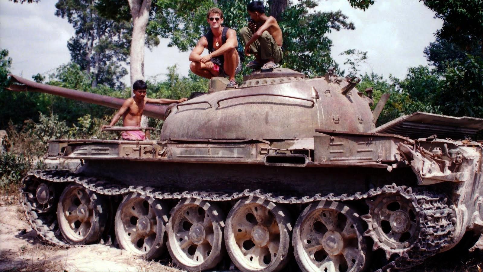 Sabatoged T34 Tank