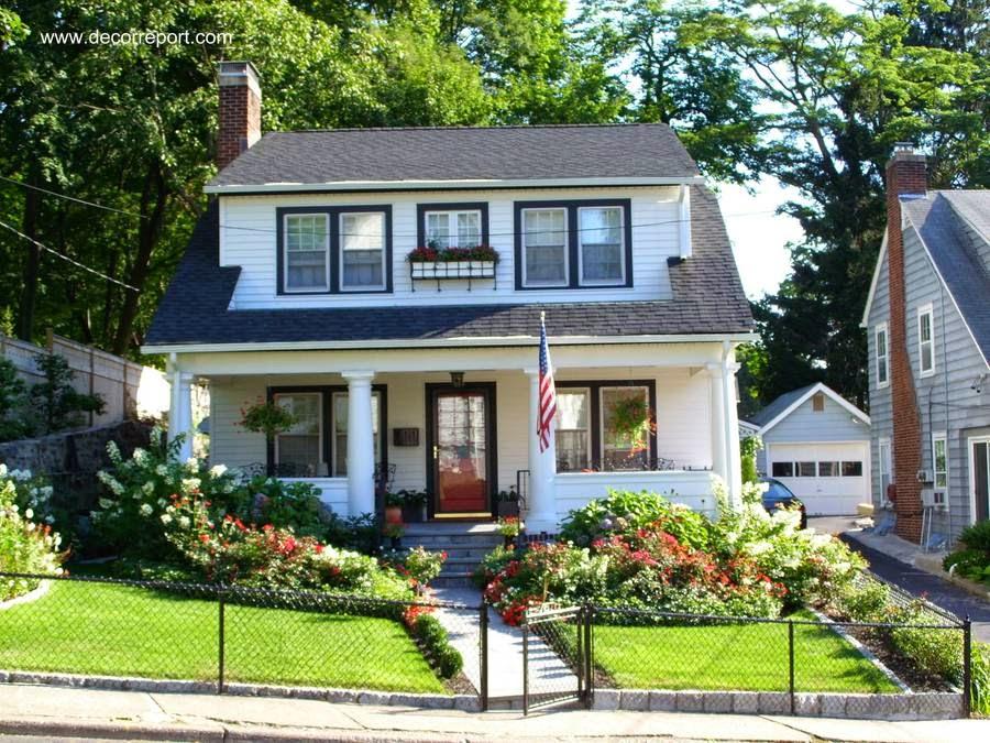 Arquitectura de casas 16 modelos de casas americanas for Classic american home designs