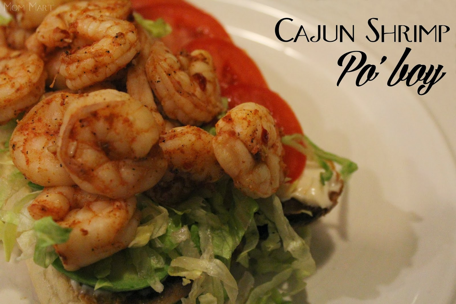 Cajun Shrimp Po' Boy Recipe