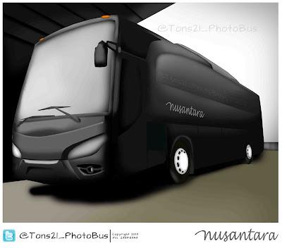 Disain Jetbus HD PO Nusantara