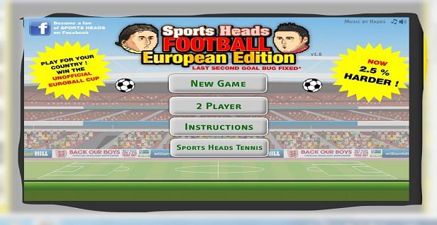 Juego futbol cabezones