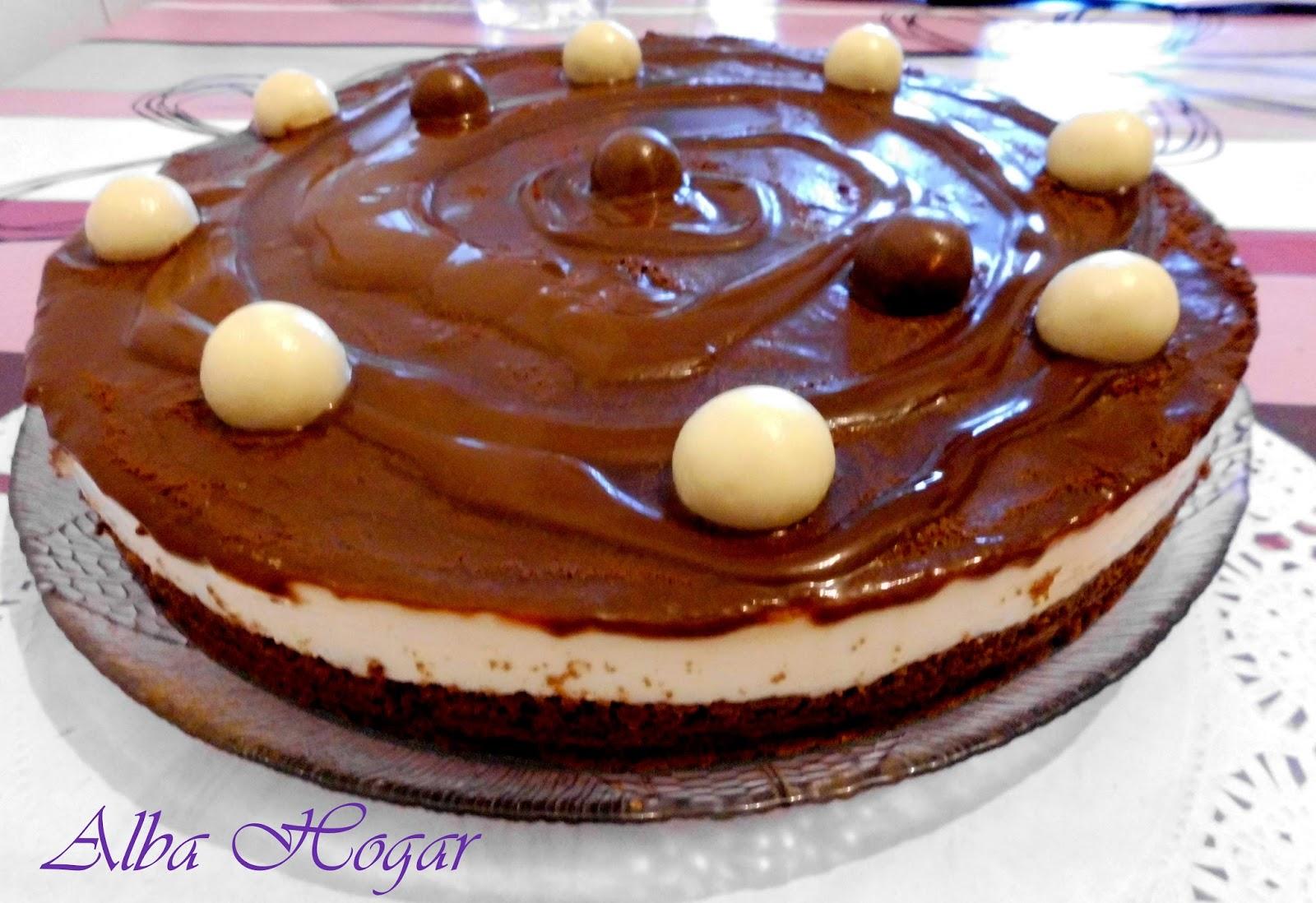 tarta de chocolate blanco alba hogar