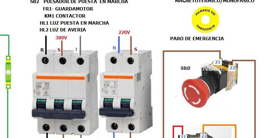 Extractor De Baño Sica:PARADA+DE+EMERGENCIA+TRIFASICA+DE+UN+MOTORjpg