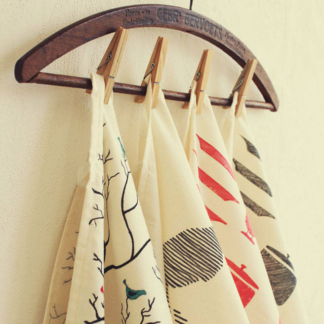 Tea Towels DIY