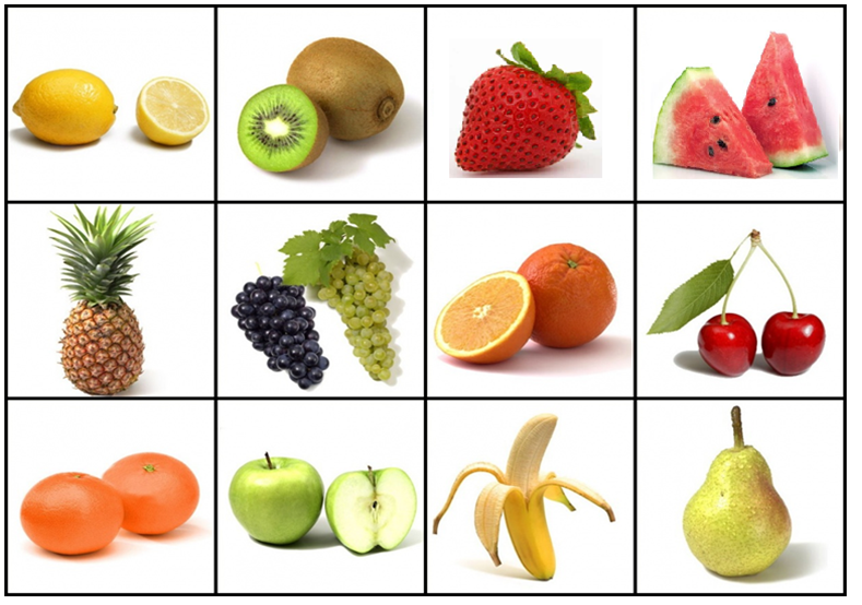 Maestra de Pedagogía Terapeutica: ¿Frutas o verduras?
