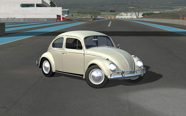 VW Beetle en el simulador Sandrox