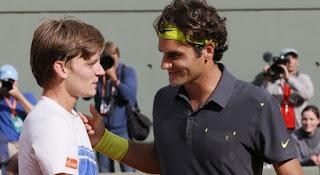 David Goffin Federer Roland Garros