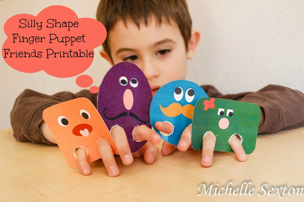 Free Printable Finger Puppets - Click through and download these!