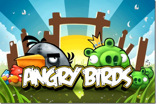 iphone 4s angry birds photo