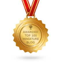 THIS BLOG IS ONE OF THE TOP 100 MINIATURE BLOGS