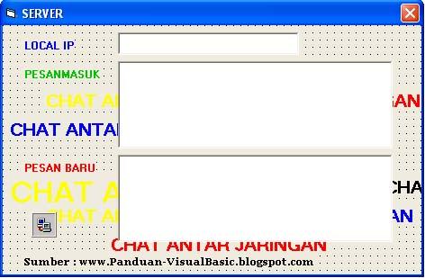 aplikasi chatting dengan vb