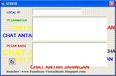 Membuat aplikasi chatting dengan visual basic 6