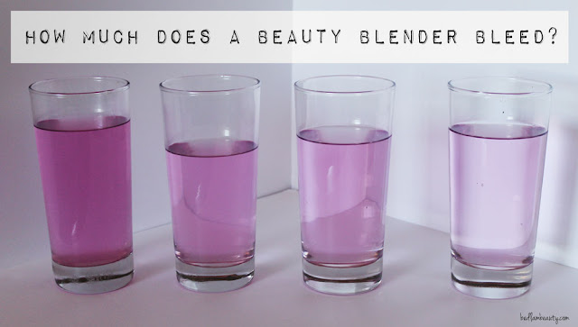 How Much Does a Beauty Blender actually bleed?