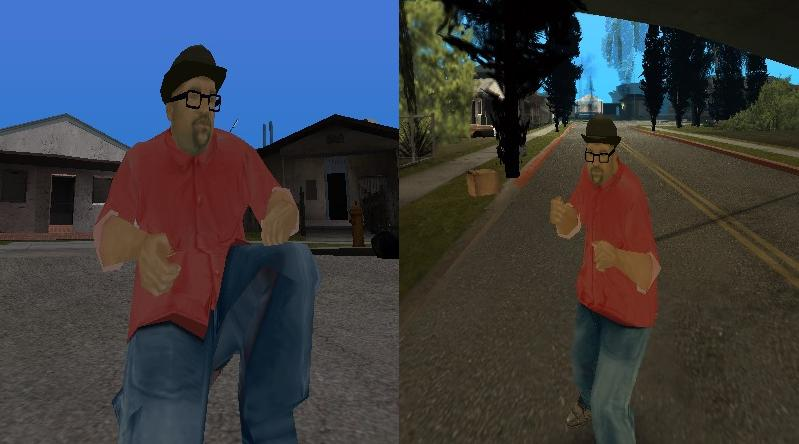 New big smoke v2 for gta san andreas