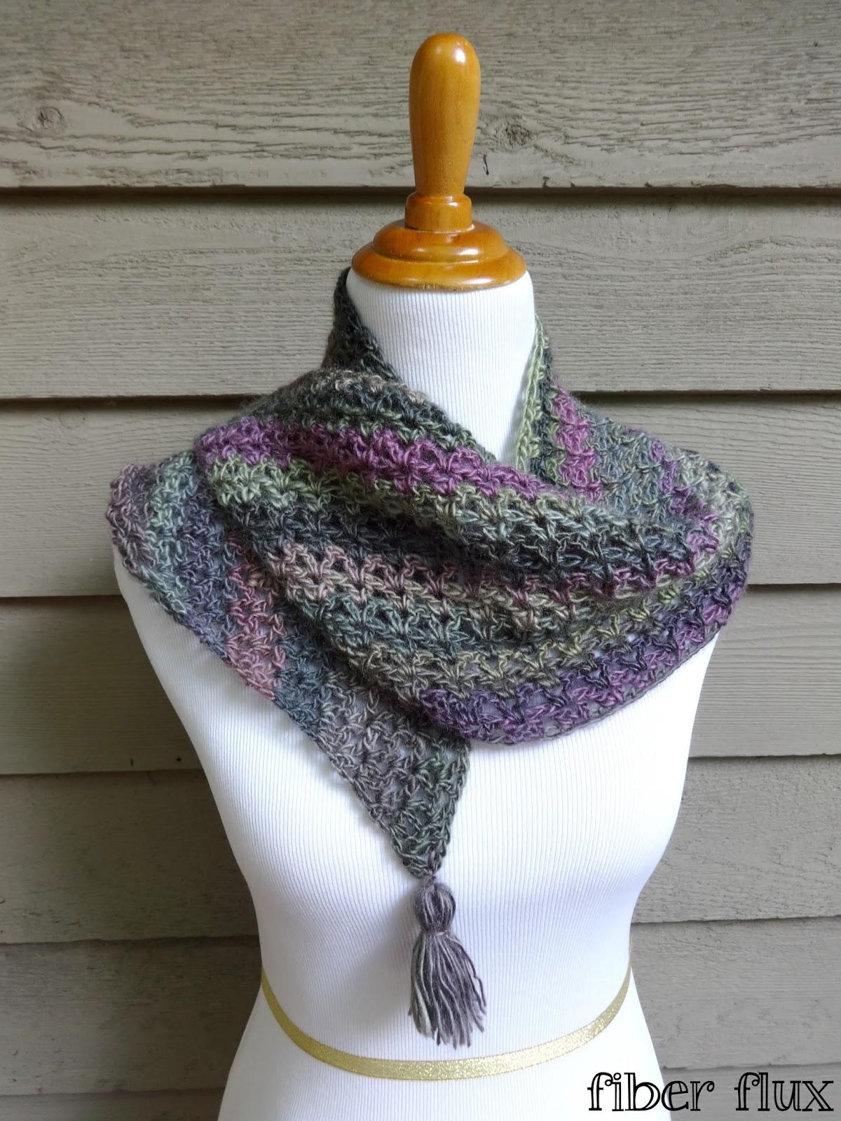 Fiber Flux: Free Crochet Pattern...Philomena Shawlette!