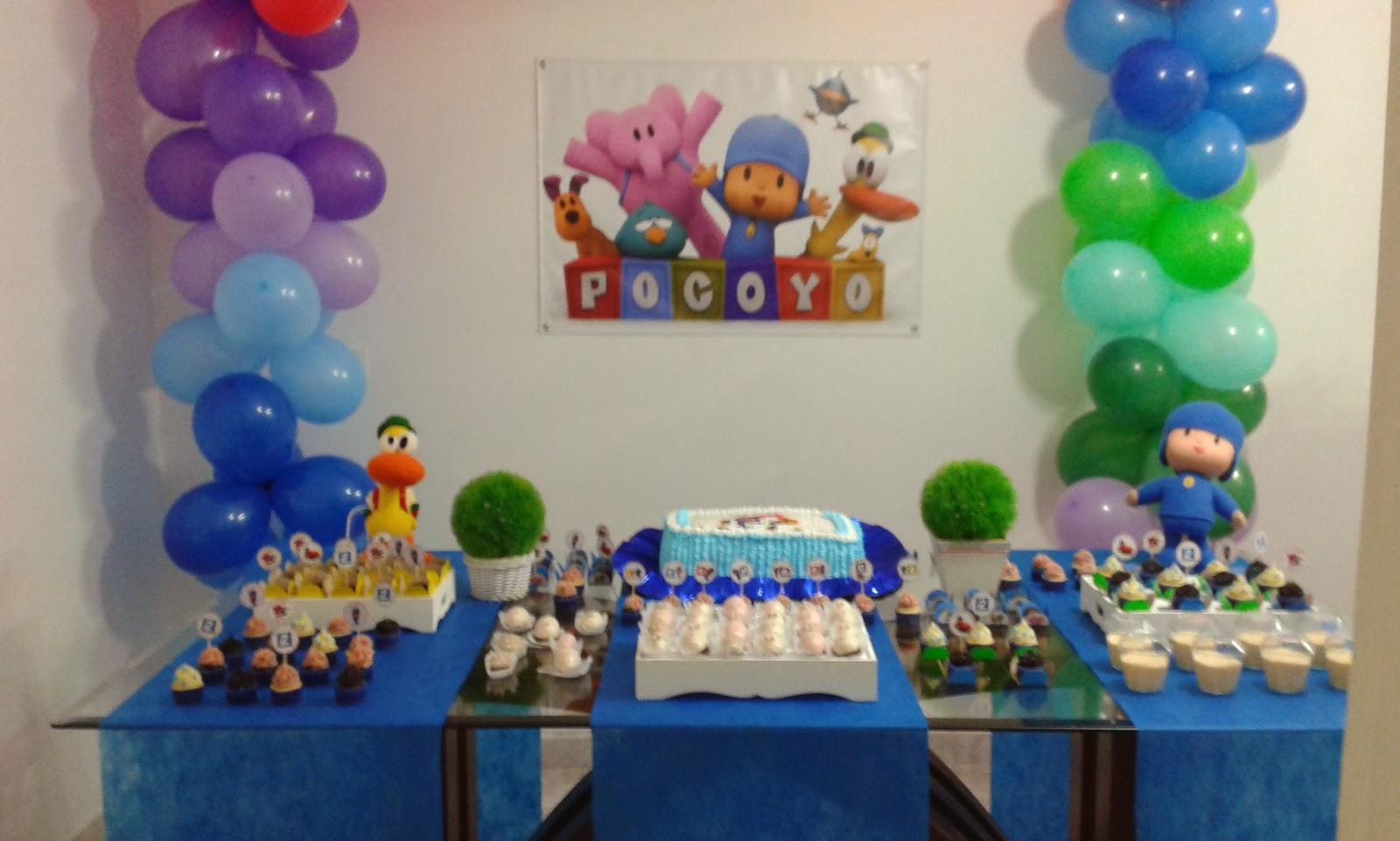 Extremamente Brincando & Fazendo: Festa de Aniversário Pocoyo ZP35