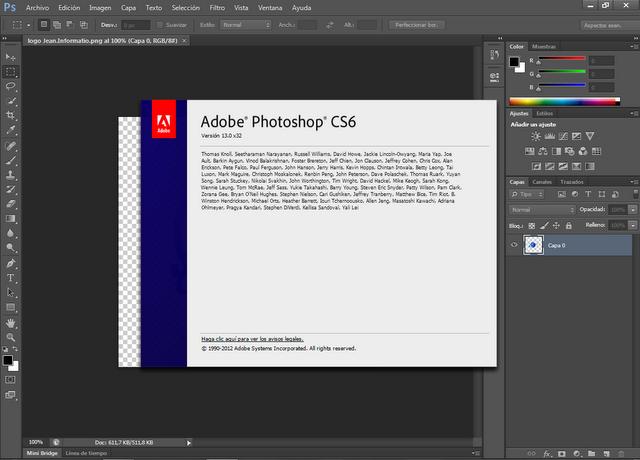 ¿necesito un serial para adobe photoshop cs6? | Yahoo ...