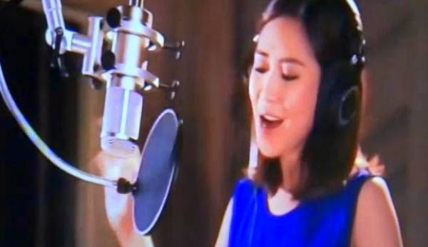 "Sarah Geronimo, chosen by Disney to sing a ""princess-themed"" song"