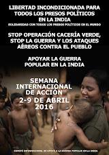 Semana Internacional de Acciones: 2-9 de Abril 2016