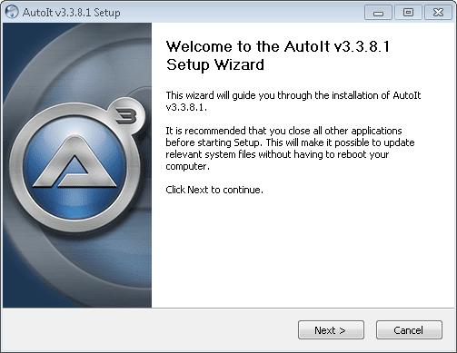 How to compile au3 script, AutoIt