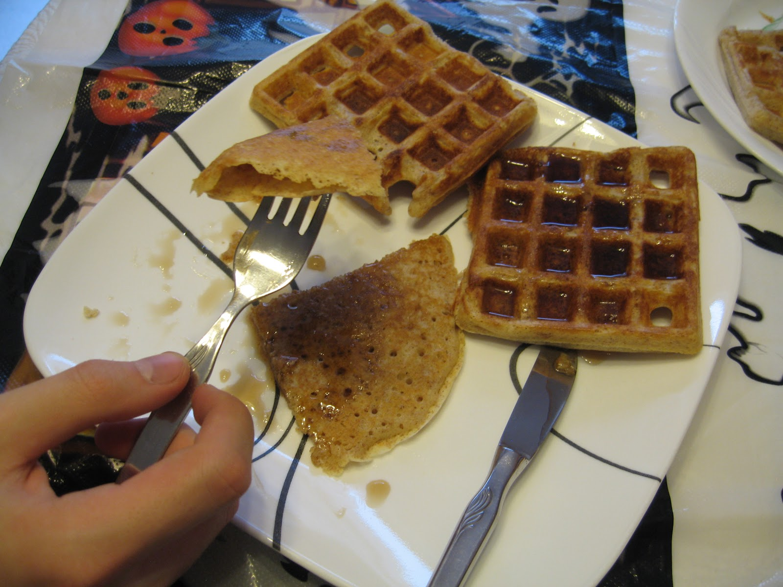 Akçaağaç şuruplu waffle tarifi