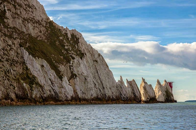 The Needles Lighthouse, Isle of Wight, UK