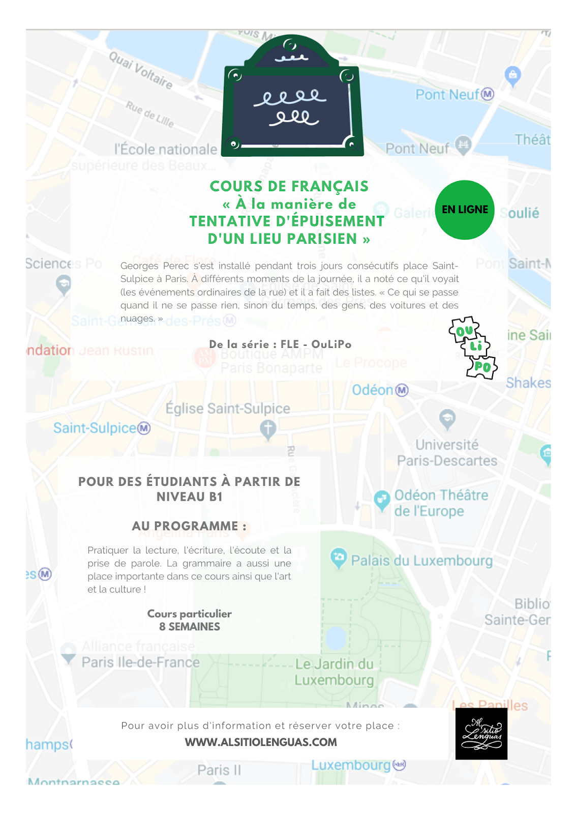 FRANÇAIS - À PARTIR DE NIVEAU B1