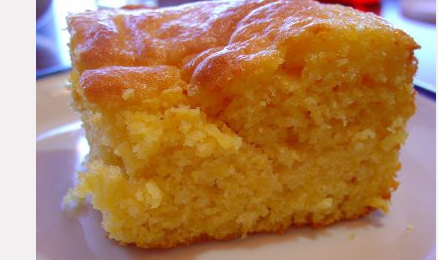 Cornbread Made With Yellow Cake Mix