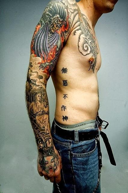 all new mess arm tattoo design for men. Black Bedroom Furniture Sets. Home Design Ideas