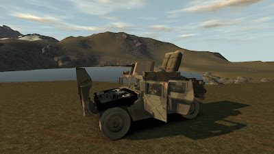 GTA 4 MOD: M1114 HMMWV Screenshots