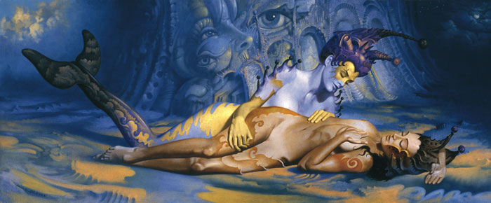 Gil Bruvel 1959   Australian-born French Visionary painter