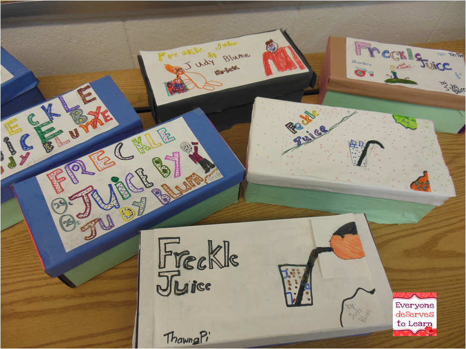 freckle juice book report