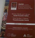 XVIII Congresso Internacional de Psicoterapia de Grupo e Processos Grupais- IAGP 2012