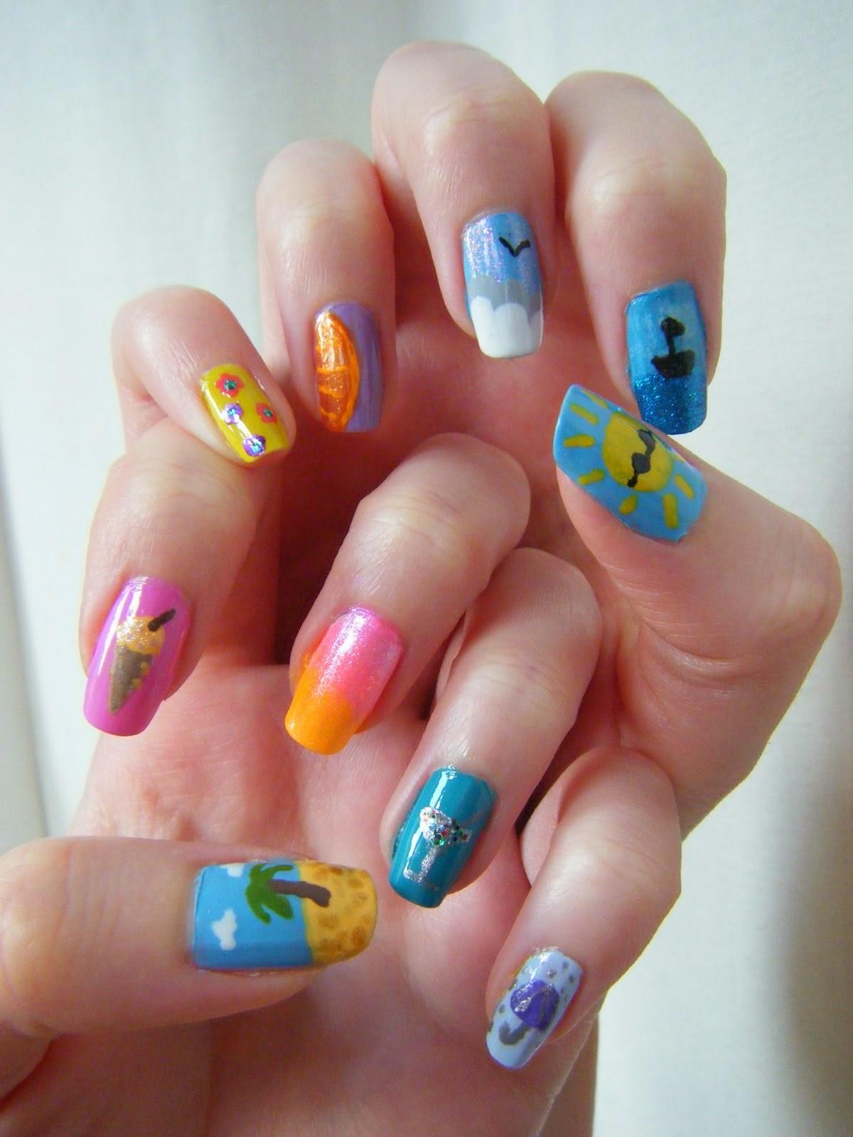 Дизайн ногтей лет фото