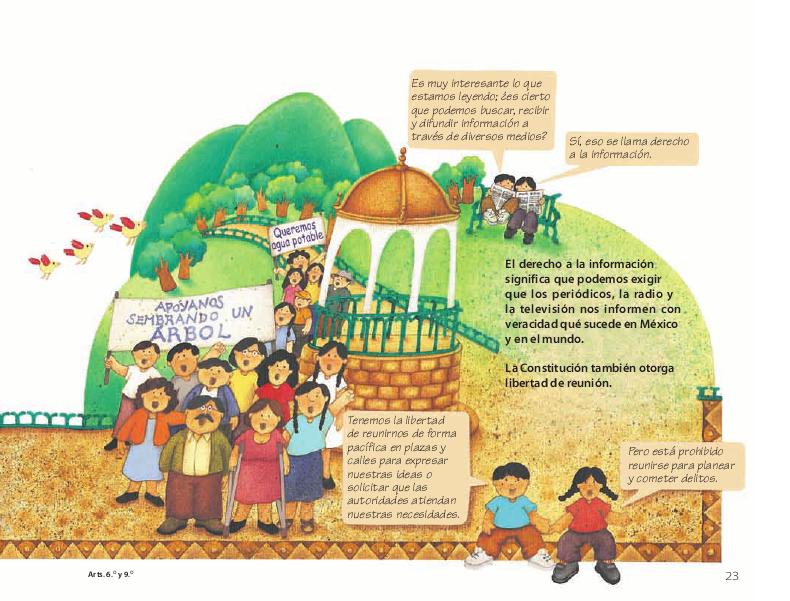 Garantías individuales - Conoce nuestra Constitución 4to 2014-2015