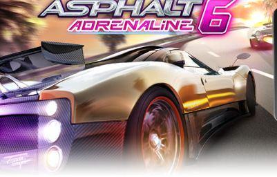 Asphalt 6: Adrenaline HD game