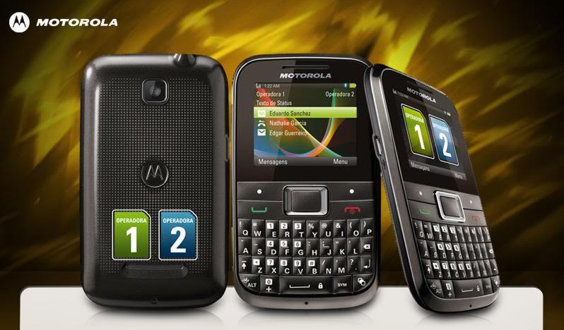 Celular Motorola Ex109 Dual Chip Mini Motokey  - imagens para celular motorola ex109
