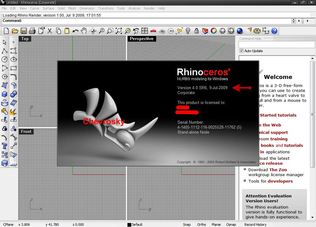 how to  rhino 5 crack