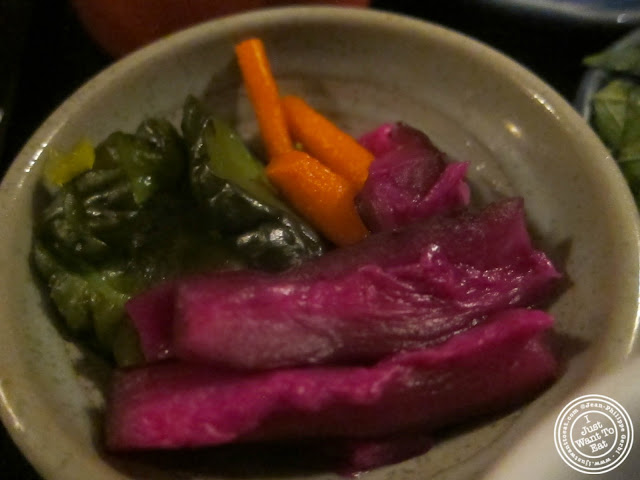 image of oshinko at East Japanese Restaurant in NYC, New York