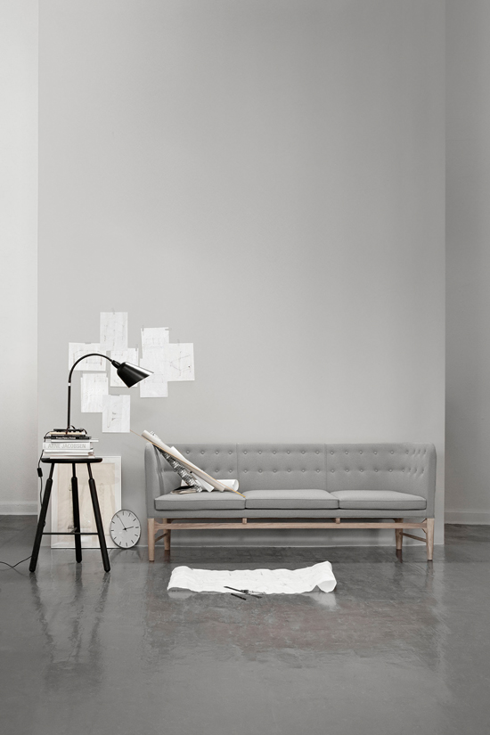 The Good News Is That Danish Design Company Tradition Have Decided To Reproduce Arne Jacobsen S Mayor Sofa Was Originally Designed For