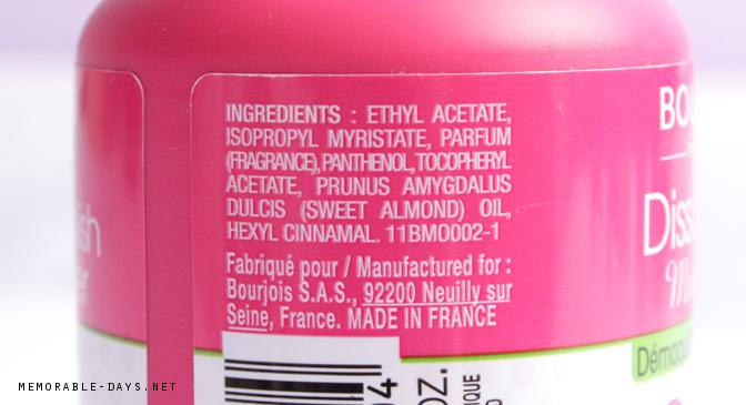 Polish ingredients